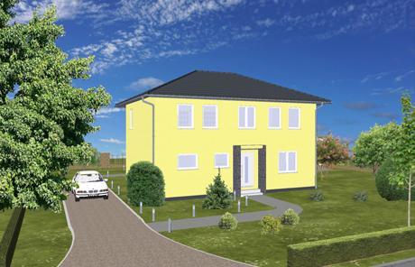 Modern wohnen: Stadtvilla 130