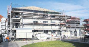 Baufortschritt Lindenberg Süd