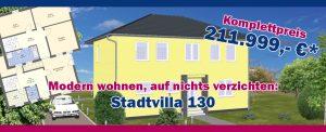 Stadtvilla mit 130m² Wohnfläche - FST Massivbau GmbH